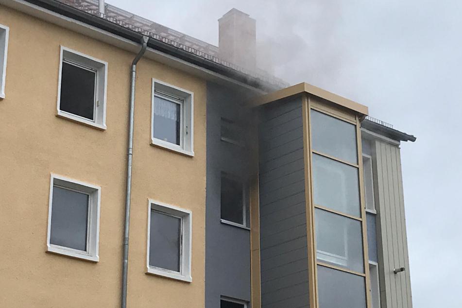 Brand in Schlotheim: Hat die Mieterin ihre Bude angezündet, weil sie nicht ausziehen wollte?
