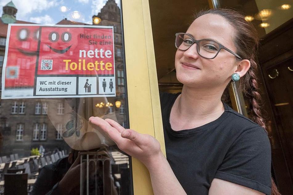 Nette Toiletten eröffnen in Chemnitz, weil es zu wenig Klos gibt