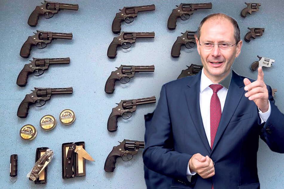 Waffen und Sprengstoff: Bekommen wir bald sizilianische Verhältnisse?