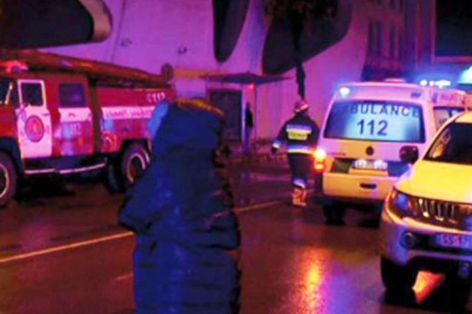 Elf Tote und 21 Verletzte bei Hotelbrand