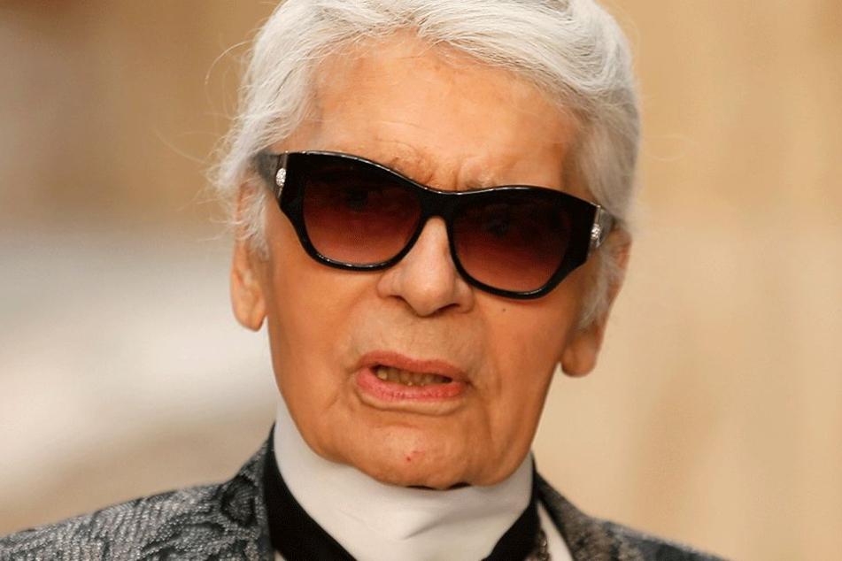 Karl Lagerfeld empört mit Skandal-Auftritt