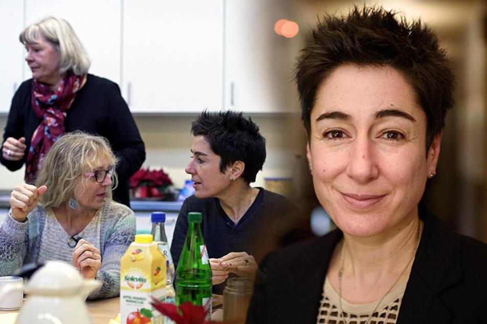 Häusliche Gewalt: Dunja Hayali im Frauenhaus