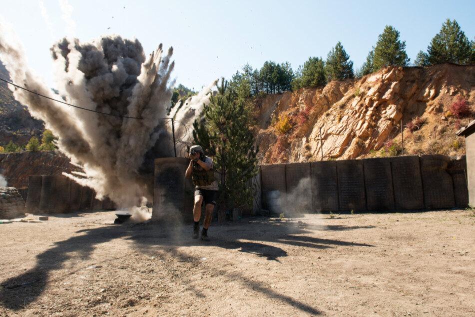 """In der """"Schlacht von Kamdesh"""" raucht, knallt und kracht es über 40 Minuten lang fast durchgehend!"""