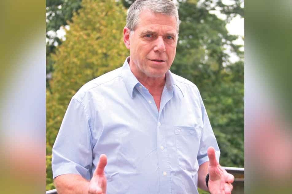 Bauern-Chef Manfred Uhlemann (63)