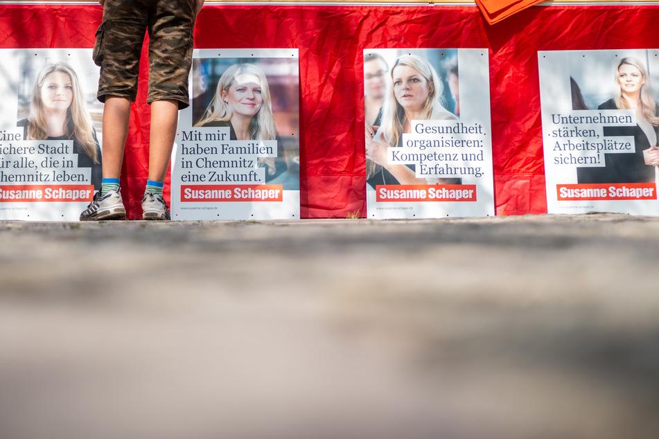Die Wahlplakate sollen in den kommenden Tagen aufgehängt werden.