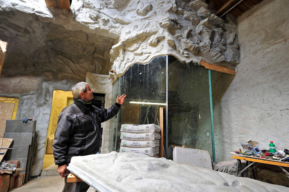 Tiergarten-Chef Michael Gottschald (57) gibt einen Einblick in die kommenden Erweiterungen des Zoos.