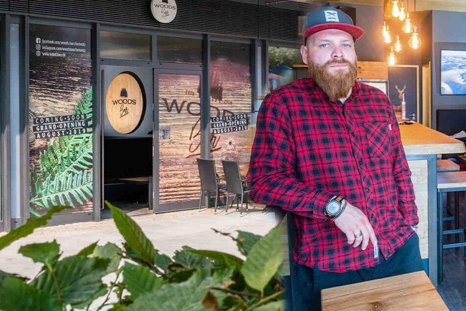Diese neue Chemnitzer Bar ist aufs Holz gekommen