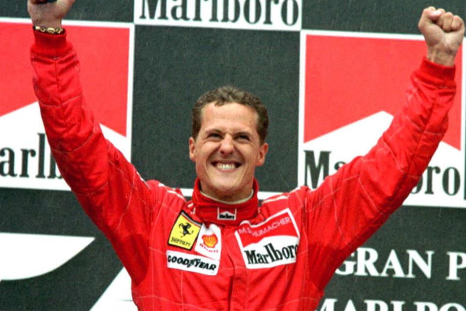 Nicht nur bei Ferrari wird Michael Schumacher bis heute verehrt.