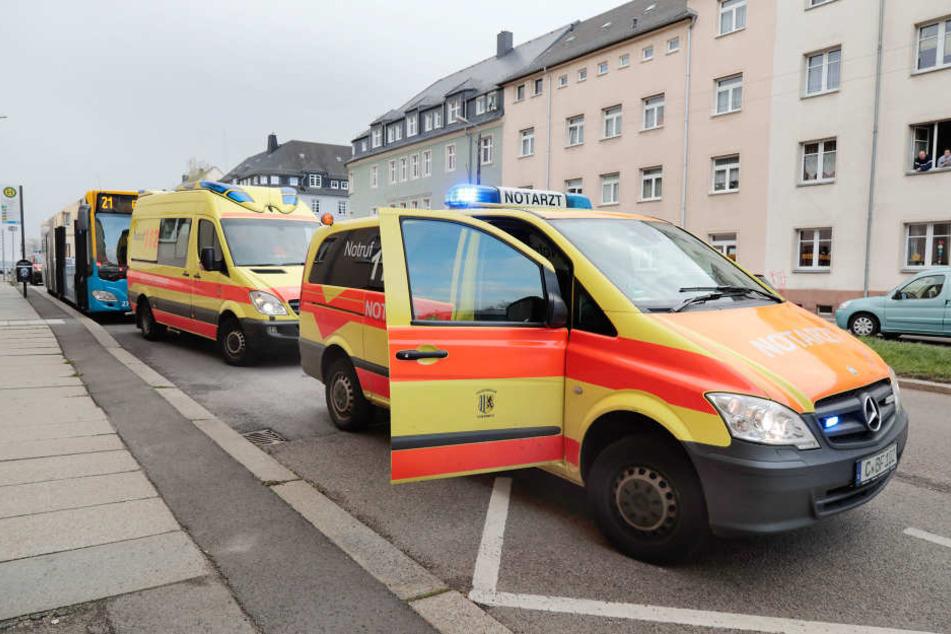 Zehn Personen mussten medizinisch versorgt werden.