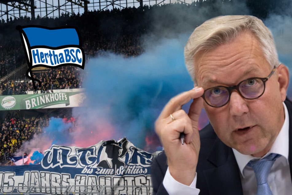"""Anzeige gegen Dortmunder Polizisten fallen gelassen: Herthas Fanhilfe spricht von """"handfestem Skandal!"""""""