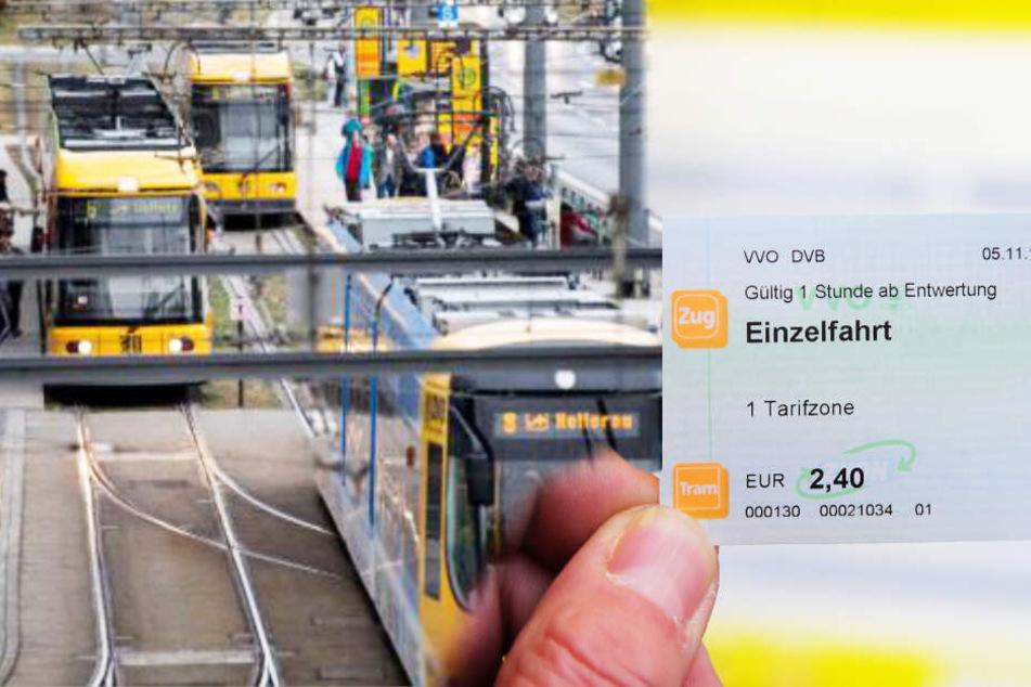 DVB: Bus- und Bahn-Tickets werden teurer!