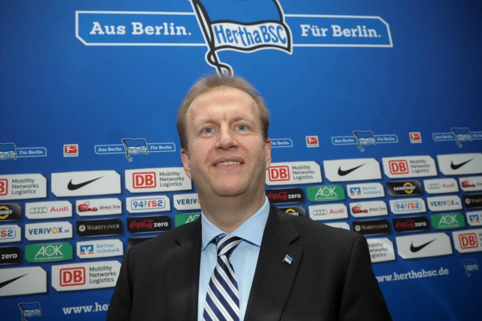 Ingo Schiller ist seit 1998 für Herthas Finanzen zuständig.