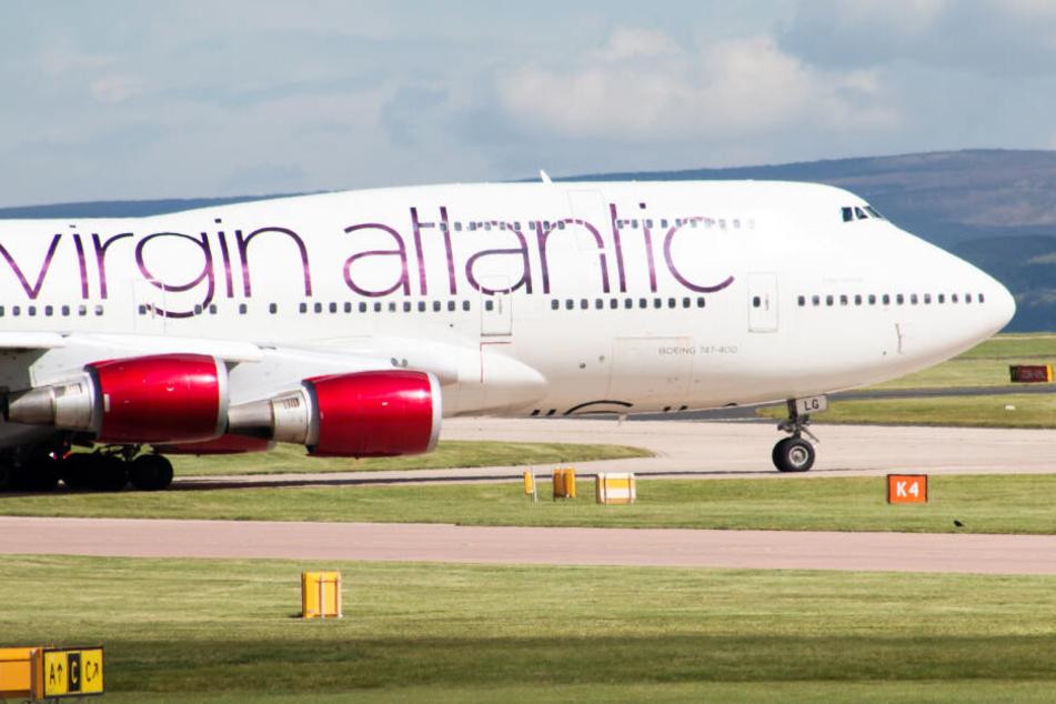 """Das Unglück geschah auf einem """"Virgin Atlantic""""-Flug (Symbolbild)."""
