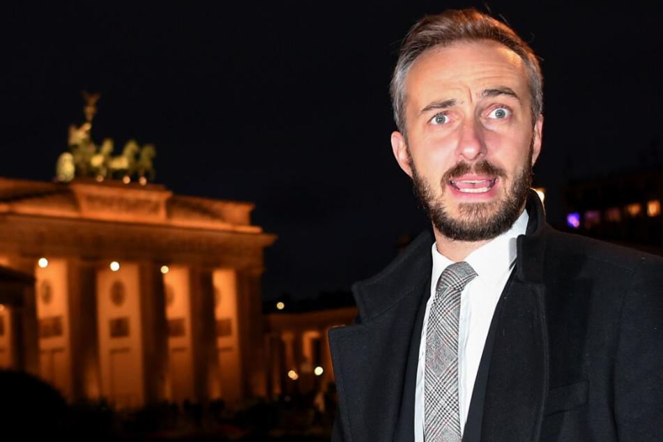 """""""Mein Vaterland heißt Mutter Erde"""": Jan Böhmermann sorgt für neue Debatte"""