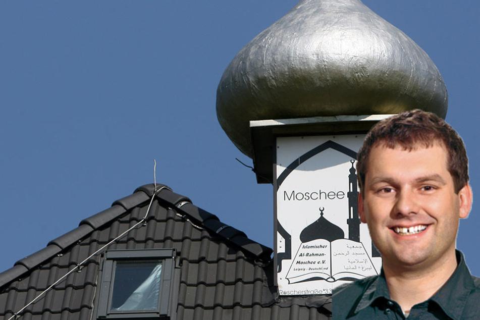 Leipzigs SPD-Fraktionschef Christopher Zenker fordert, dass die Al-Rahman Moschee aus dem Online-Programmheft gelöscht wird.