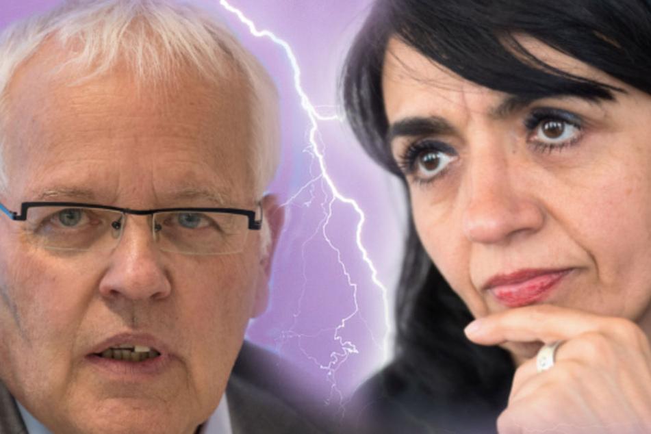 Nach der Äußerung des AfD-Abgeordneten Emil Sänze zur Herkunft von Muhterem Aras (Grüne): Die Kluft im baden-württembergischen Landtag wird immer größer.