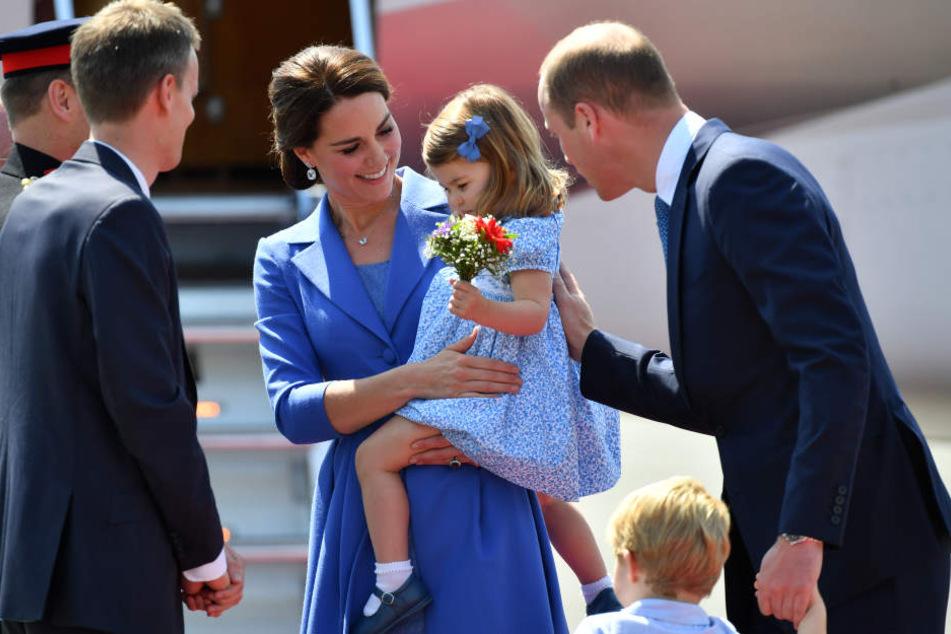 Herzogin Kate und Prinz William erwarten drittes Kind