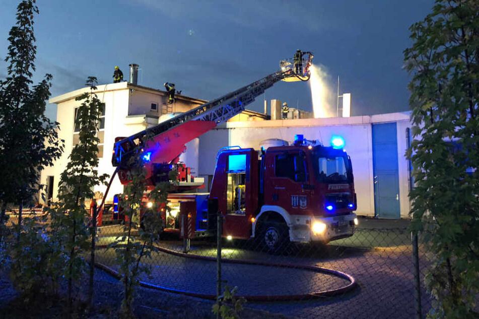 In den frühen Morgenstunden brach in der Wurstfabrik in Harsleben ein Brand aus.