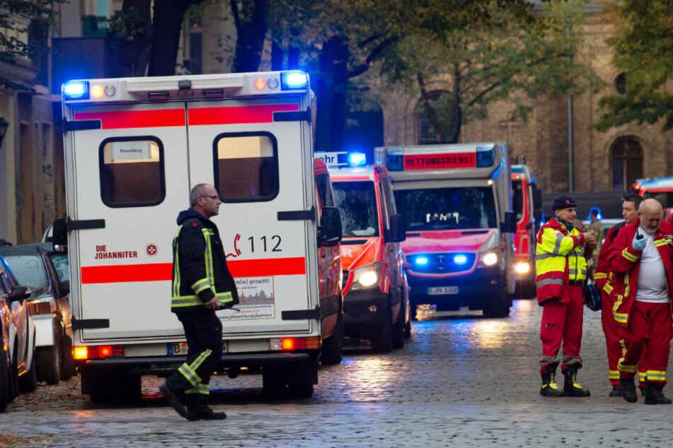 In der Nogatstraße war am frühen Morgen im Badezimmer einer Wohnung ein Feuer ausgebrochen.