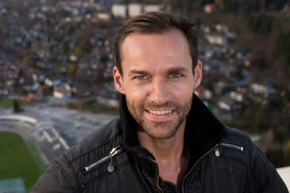 Ex-Skispringer Sven Hannawald ist heute als Sport-Moderator tätig.