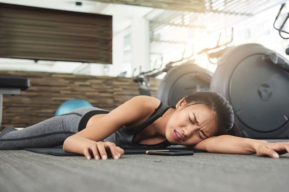 Herzstillstand im Fitnessstudio? Für Frauen viel gefährlicher als für Männer! (Symbolbild)