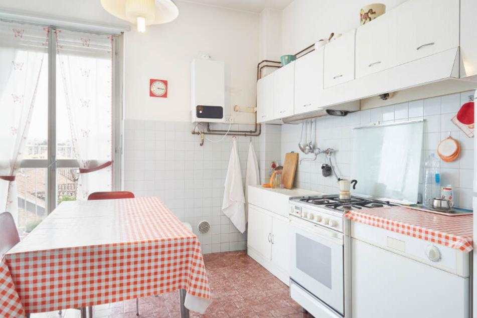 Die Küche war in Rauch gehüllt.