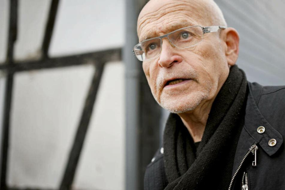Günter Wallraff musste vier Stunden lang operiert werden.