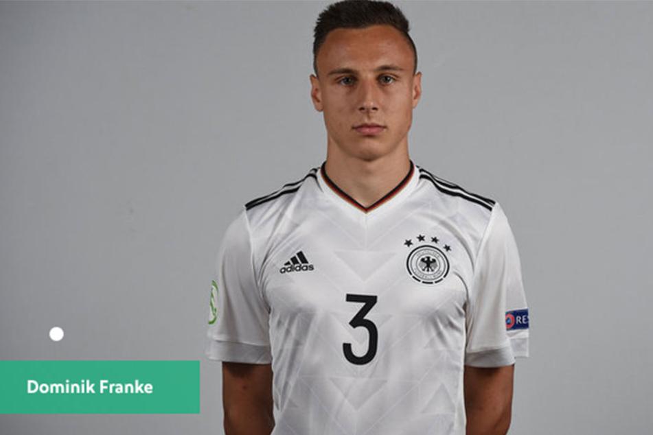 Linksverteidiger Dominik Franke (18) von RB Leipzig kam in zwei der drei deutschen Vorrundenspiele zum Einsatz - nun ist Schluss.
