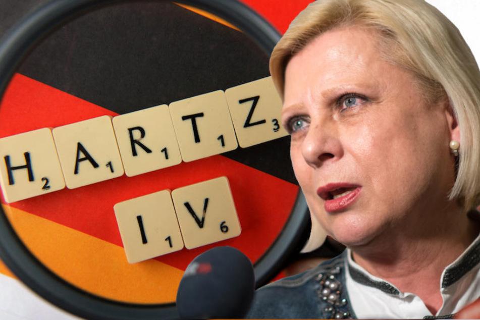 Die SPD-Politikerin fordert eine Entschuldigung ihrer Partei für deren Hartz-IV-Reformen. (Bildmontage)