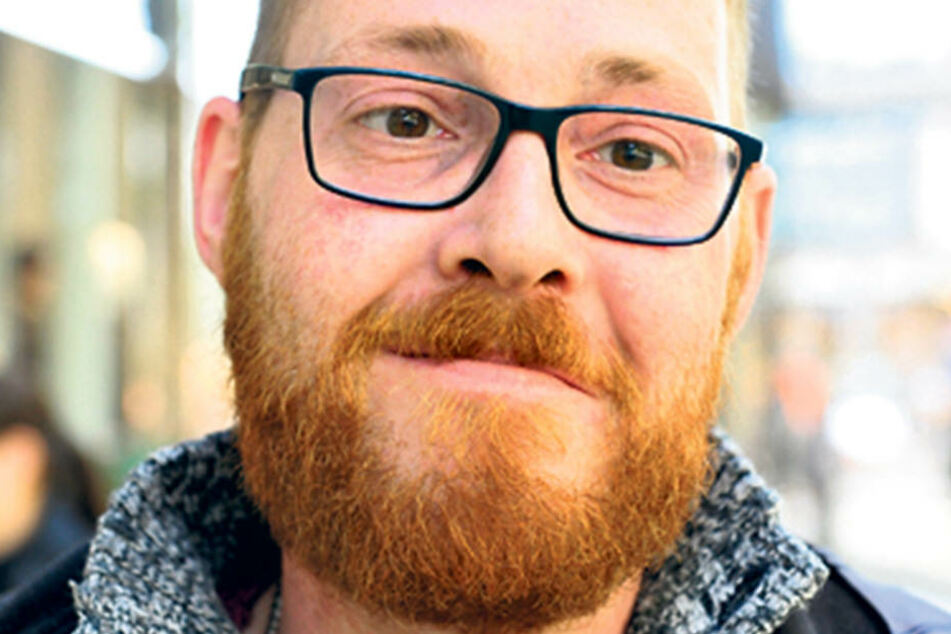 """Thomas Müller (35), Industriemechaniker aus dem Raum Annaberg-Buchholz: """"Ich gehe auf alle Fälle wählen, bin mir aber noch uneins, welche Partei. Es sollte eine sein, die dafür sorgt, dass es in der Gesellschaft fairer zugeht."""""""
