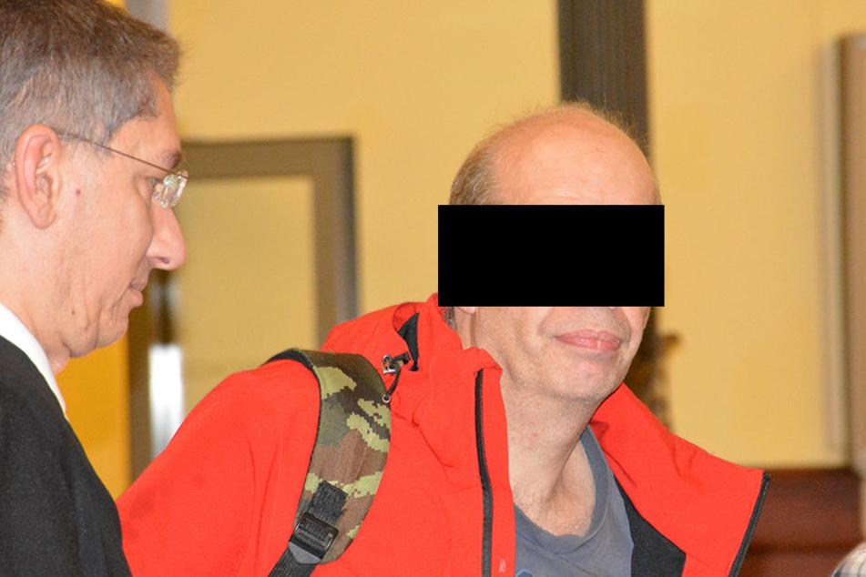"""Reichsbürger"" Michael E. randalierte im Gericht."
