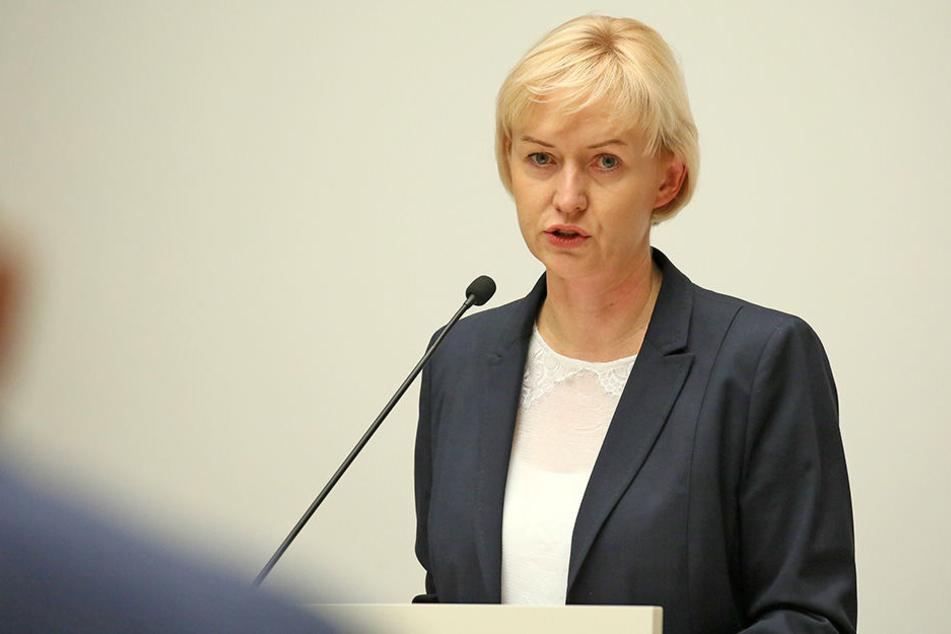 Baubürgermeisterin Kathrin Köhler wurde betrunken von der Polizei am Steuer ihres Autos erwischt.
