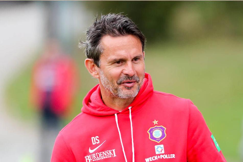 FCE-Coach Dirk Schuster hat vor der Partie gegen Osnabrück wieder Alternativen dazubekommen.