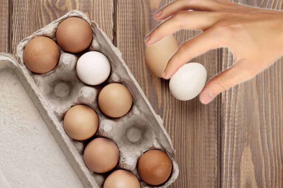 Die Eier reichten dem Dieb anscheinend nicht. (Symbolbild)