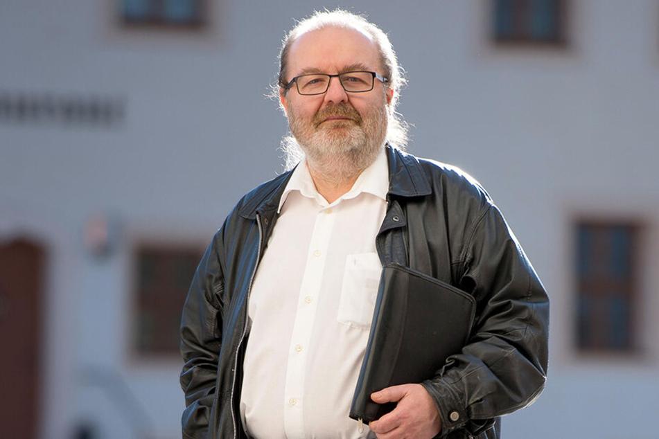 Thomas Scherzberg (57, Linke) lehnt eine entgelt- und gebührenfreie Flächennutzung für öffentliche Veranstaltungen ab.