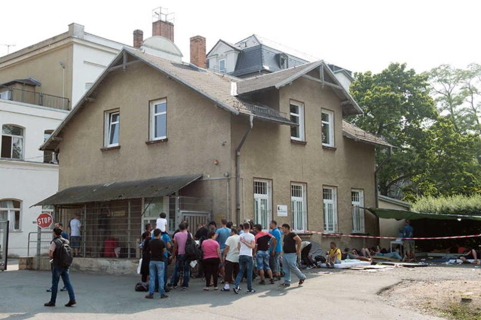 Das Erstaufnahmeheim in Eisenberg wird derzeit nicht genutzt. Seine Zukunft ist völlig offen.