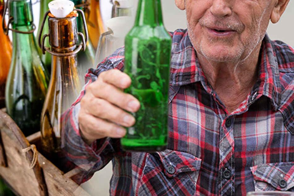 Der 62-jährige Mann hatte nach einem ganzen Kasten Bier 5,2 Promille im Blut.