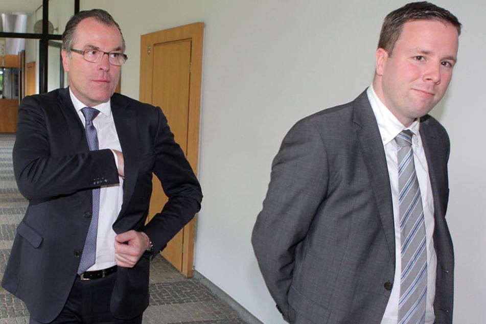 Clemens (links) und Robert Tönnies werden sich einfach nicht einig!