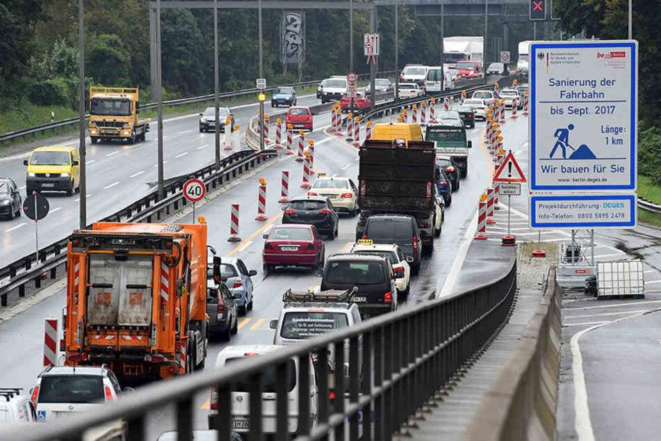 Drei Wochen früher als eigentlich terminiert: Freie Fahrt auf der Rudolf-Wissel-Brücke.