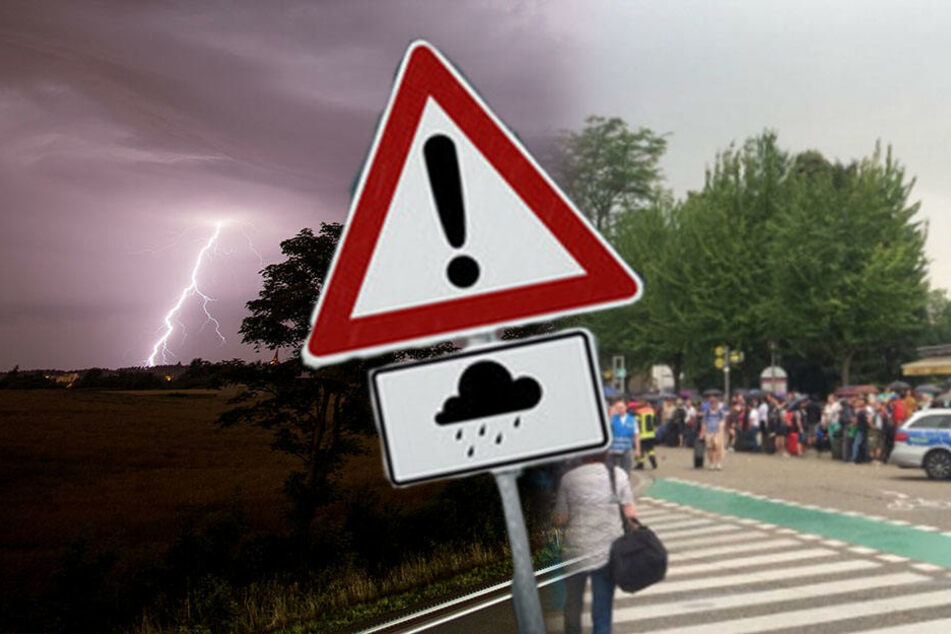 Schweres Unwetter! In dieser deutschen Stadt saßen gestern tausend Menschen fest