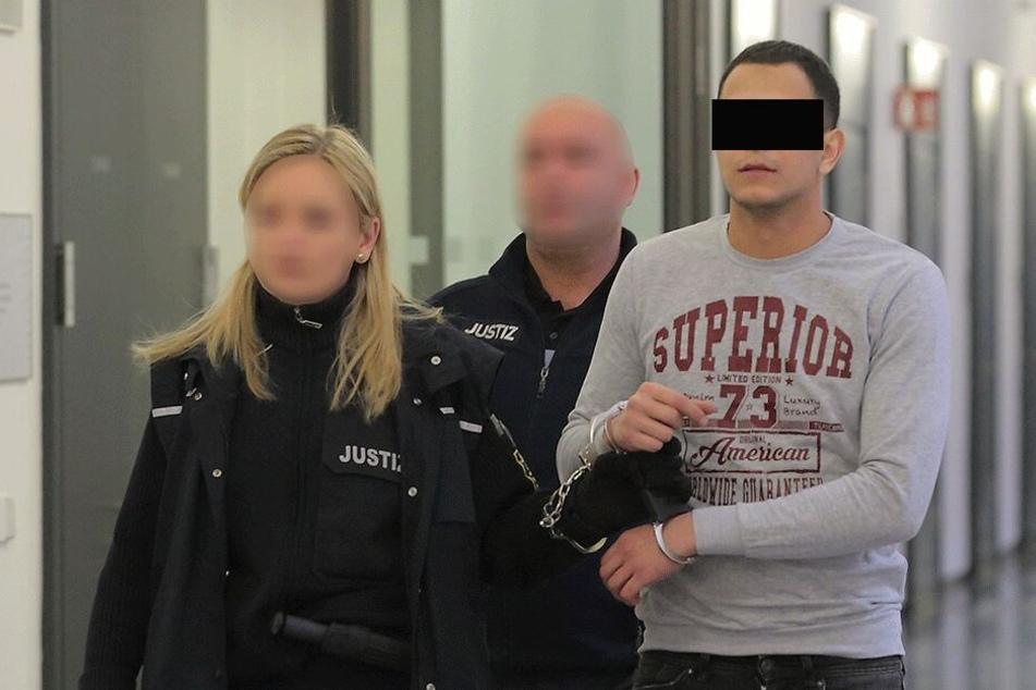 Ghaleb N. (29) wurde verurteilt, weil er seine Ex-Freundin (32) schwer verletzte.