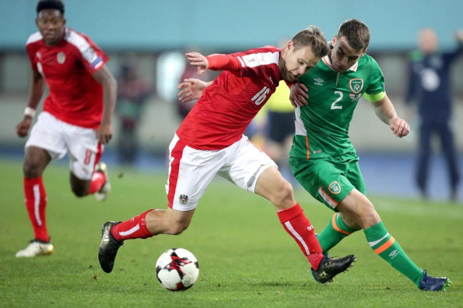 Louis Schaub spielt auch für die österreichische Nationalmannschaft.