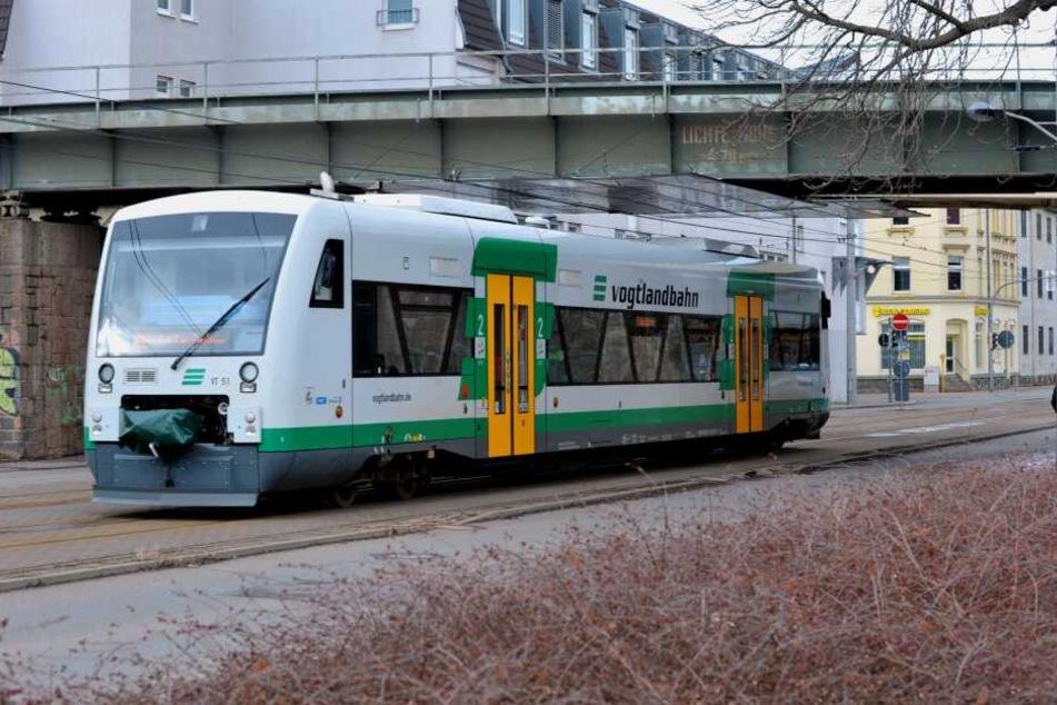 Der Unfall passierte auf dem Betriebsgelände der Vogtlandbahn.