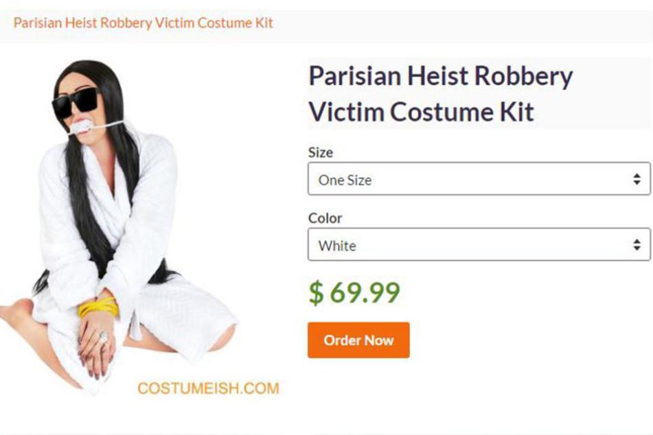 Dieses Kostüm soll der neuste Schrei zu Halloween werden.
