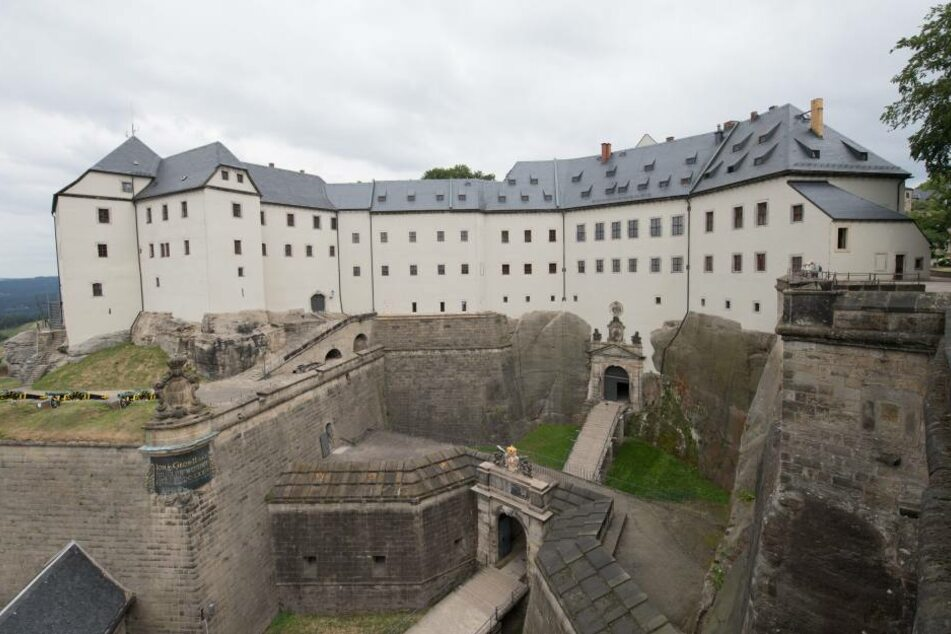 Sechs Prozent Umsatzplus: Die Festung Königstein in der Sächsischen Schweiz.