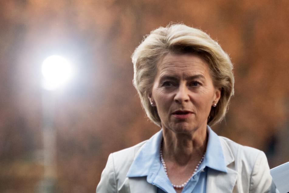 Steht mal wieder in der Kritik: Ursula von der Leyen (CDU), Verteidigungsministerin.