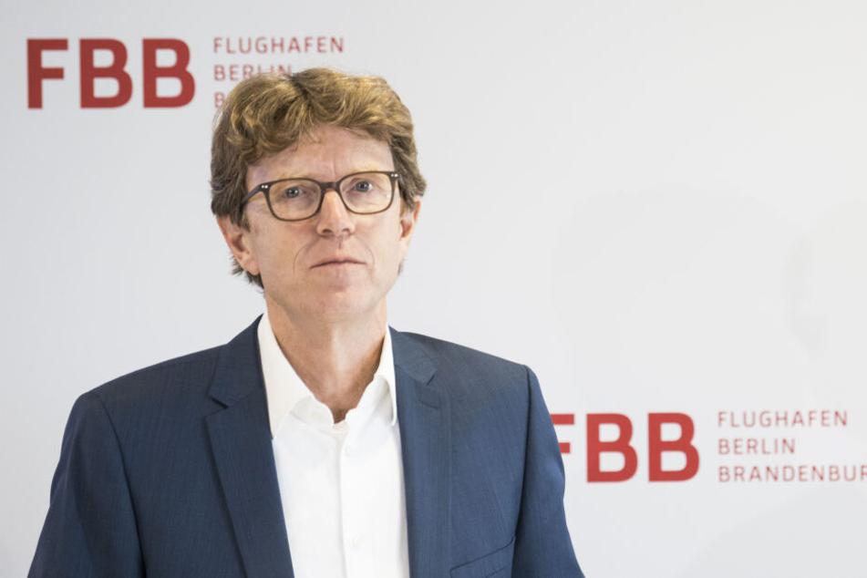 Flughafenchef Engelbert Lütke Daldrup plant den Bau eines neuen Terminals