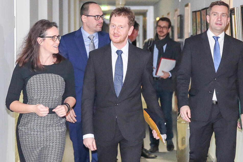 Bald-MP Kretschmer stellt sich bei der SPD vor