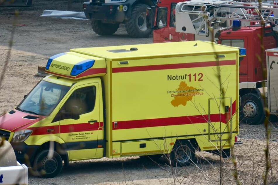 Der Verletzte wurde ins Krankenhaus gebracht.
