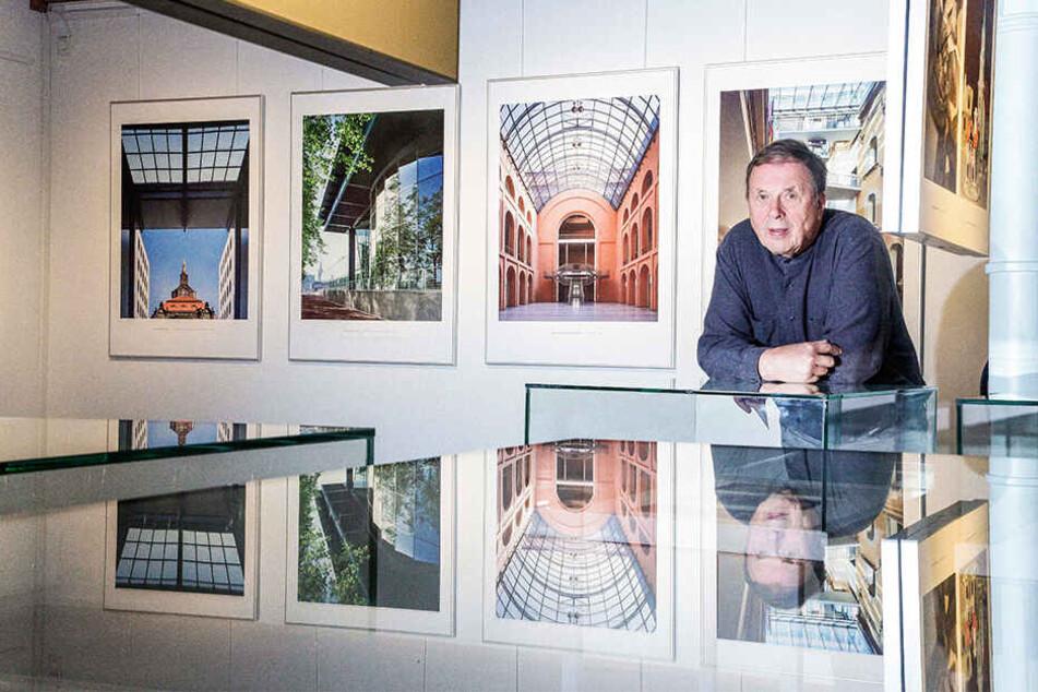 Am Montag eröffnet Jörg Schöners (75) Ausstellung im Stadtarchiv.